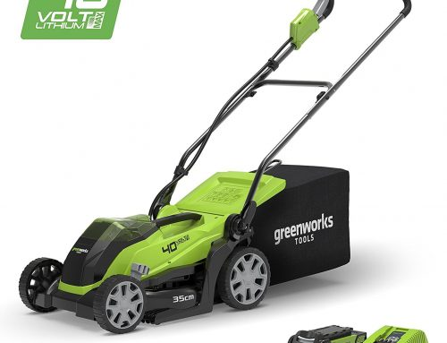 Greenworks 14-Inch 40V Cordless Lawn Mower Review 2019, 4.0 AH Battery Included MO40B410