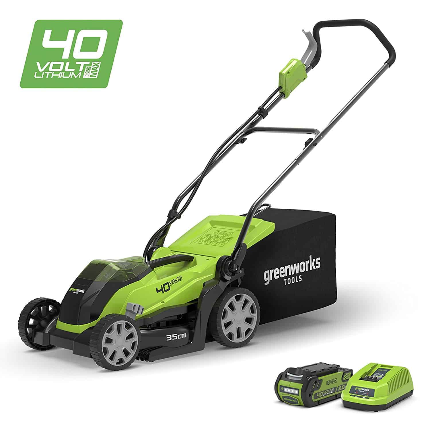 Greenworks 14 Inch 40v Cordless Lawn Mower Review