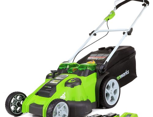 Greenworks 20-Inch 40V Twin Force Cordless Lawn Mower Review 2019, 25302