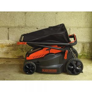 BLACK+DECKER 40V MAX Cordless Lawn Mower Battery Folded
