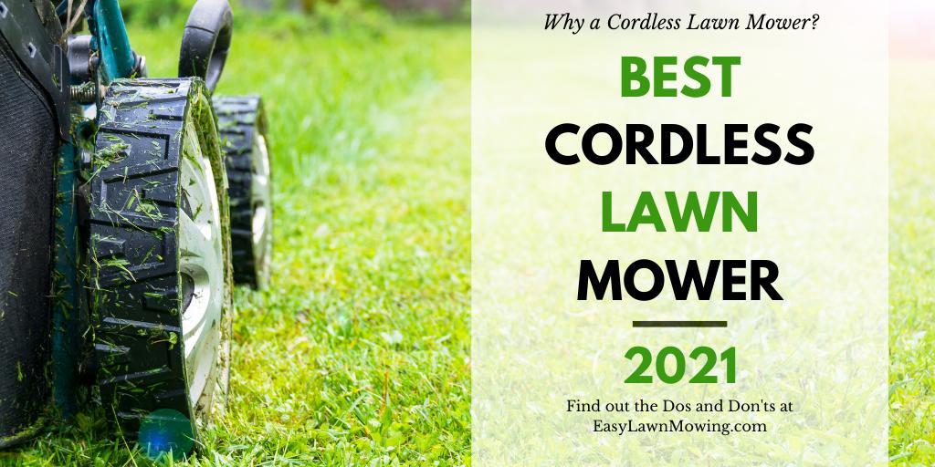Best Cordless Lawn Mowers US