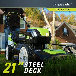 Greenworks PRO 21-Inch 80V Deck
