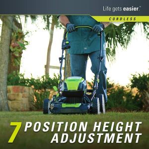 Greenworks PRO 21-Inch 80V Height