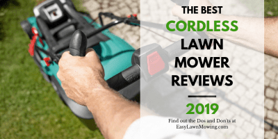 The Best Cordless Lawn Mowers for 2019 US