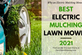 Best Electric Corded Grass Mulching Mower