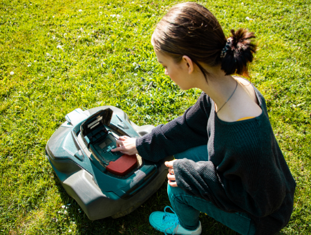 Robotic Mowers Are Highly Customizable