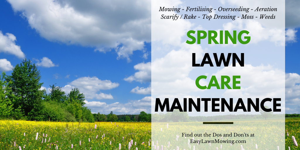 Spring Lawn Care Maintenance US