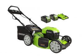Greenworks MO40L4413 Review – 40V 21″ Brushless (Smart Pace) Self-Propelled Lawn Mower
