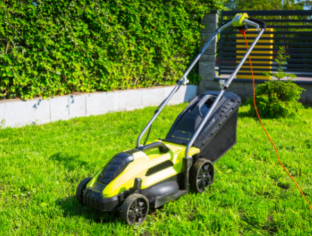 How your mower is powered