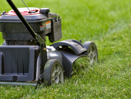 Mowing Discharge Options